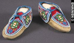 moccasins, 1884-1888